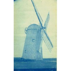 Cyanotype Of A Windmill #1