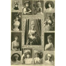 Downey, W. and D. Some Leading Actresses, A Group
