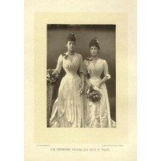 Downey, W. and D. The Princesses Victoria and Maud of Wales