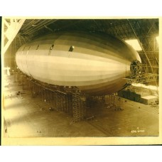 Dirigible Under Construction