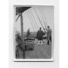 Snapshot, German  Tossing Quoits On The Europa.
