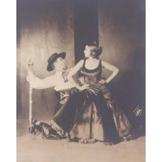 Abbe, James. Valentino and His Wife Dancing The Tango