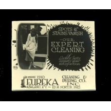 Advertising. Photo Ad 1. Eureka Cleaning and Dying Co. Ashland Kentucky.