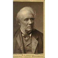 CDV.  W.P. Frith, English Artist. woodburytype