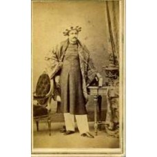 CDV. Indian Man In His Winter Dress