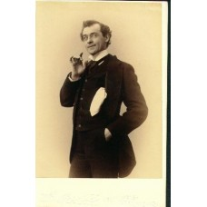 Cabinet Card. DeWolf Hopper. Actor (SOLD)