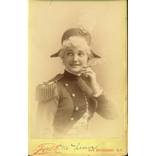 Falk,   Miss McLean. Actress. cabinet card