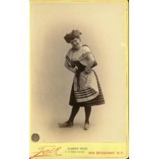 Falk,   Fanny Rice in The Grand Duchess. Actress. cabinet card (SOLD)