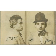 Crime.Mug Shot Photograph. 1910 Frank Concetti arrested for Larceny