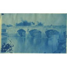 Cyanotype. Siam. Bridge