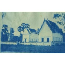 Cyanotype. Siam. Buildings & Monument