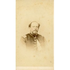 "CDV. Civil War Officer, ""Possibly Major General Darius N. Couch"""