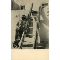 Gilpin, Laura  Acoma Pueblo, New Mexico. Gravure Post Card