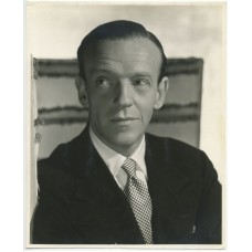 Bull, Clarence Sinclair. Striking Portrait of Fred Astaire