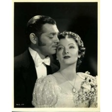 "Bull, Clarence Sinclair. Clark Gable  and Myrna Loy. ""Parnell"""