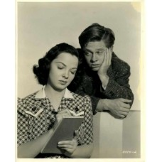 "Bull, Clarence Sinclair. Mickey Rooney and Kathryn Grayson.  ""Andy Hardy's Private Secretary."""
