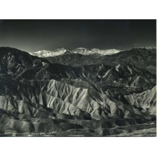 Ullberg, Lloyd.   Death Valley.  1969 5 1/4 x 7 inch silver print with id on the back