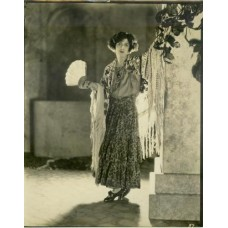 Abbe, James  . Jane Cowl as Malvaloca in the play of that name