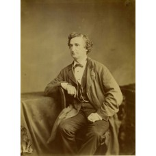Fradelle and Marshall George Honey. Actor & Singer.Large Albumen Print  7  x  9  inches