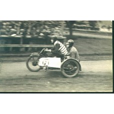 RPPC. Motorcycle Racing, Crystal Palace, 1928