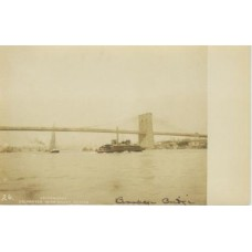 RPPC.  The Brooklyn Bridge
