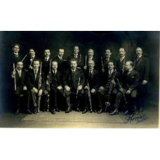 RPPC. Members Of Boston Orchestra. Reed Section.