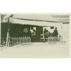 Snapshot. Cuba. 1920. A little cafe in the village of Casa Blanca.