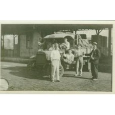 Snapshot. Cuba. 1920.Taking The Potatoes Away by Truck