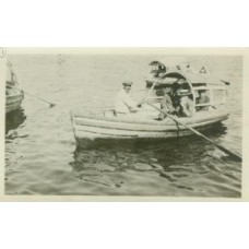 Snapshot. Cuba. 1920. Our Private Yacht.