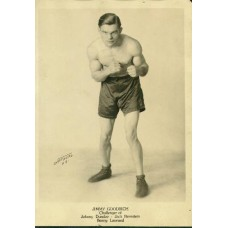 Boxing. Jimmy Goodrich,    National Silver print 5 X 7  inches