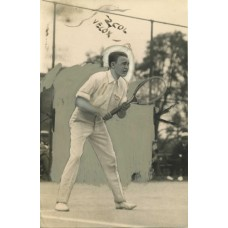 Tennis Player. Vincent Richards  1920.     MARKED FOR PUBLICATION.
