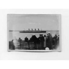 Snapshot, German . 1932.  Aquitania At Southampton