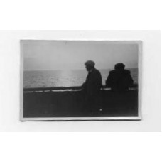 Snapshot, German . 1932. On The Europa, Sunset